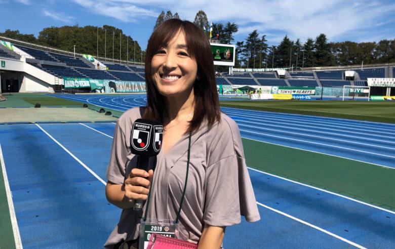 Vol.9 Jリーグピッチリポーター(フリーアナウンサー)/高木聖佳
