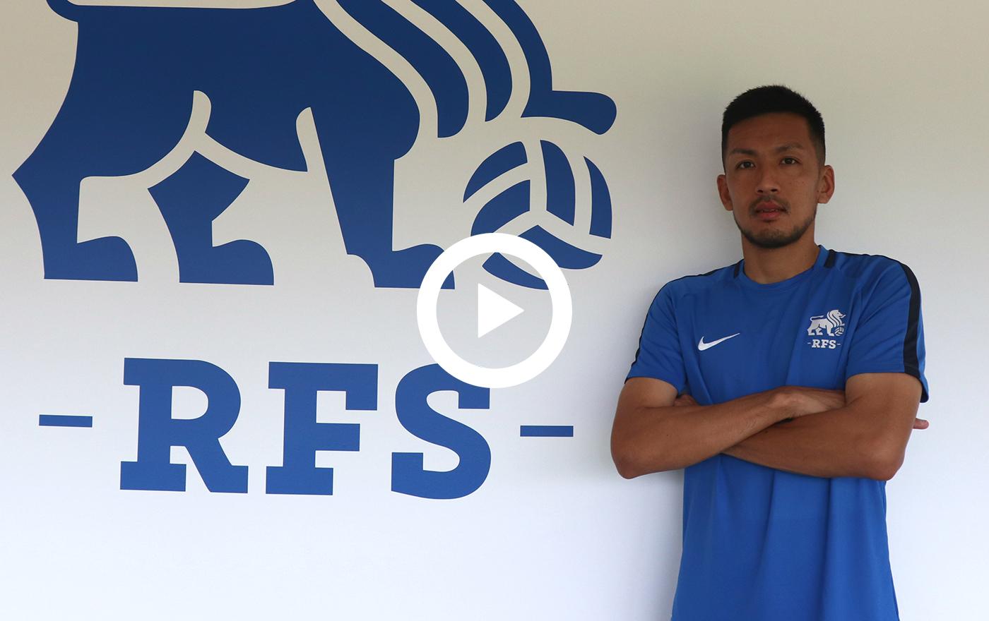 ラトビア1部 FK RFS/MF瀬戸貴幸