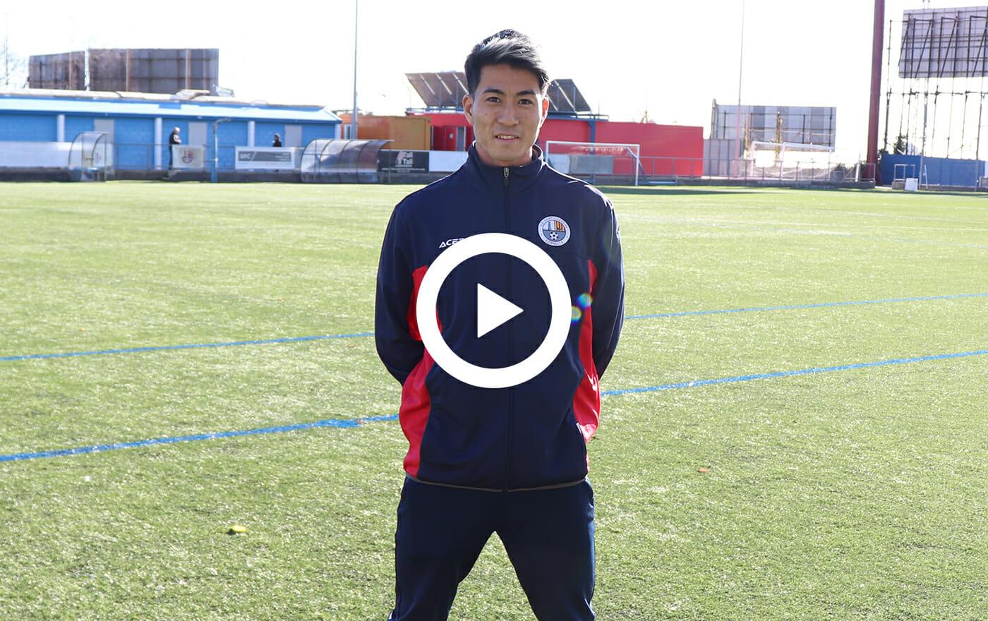 スペイン5部リーグUE Sant Ildefons/MF岸本青空
