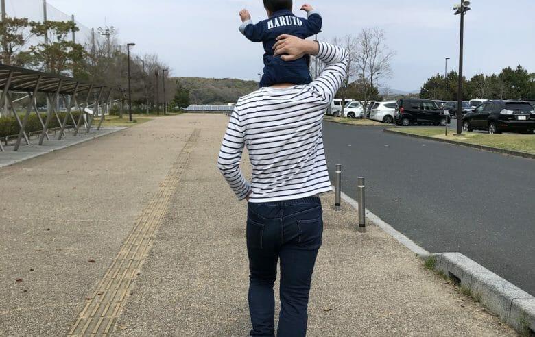 Vol.8 練習後に息子と公園へ。