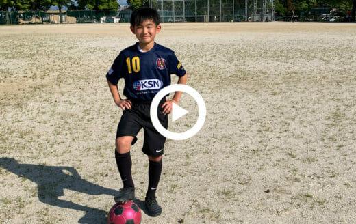 ABRIR FC(滋賀)/永井優翔 中学1年生