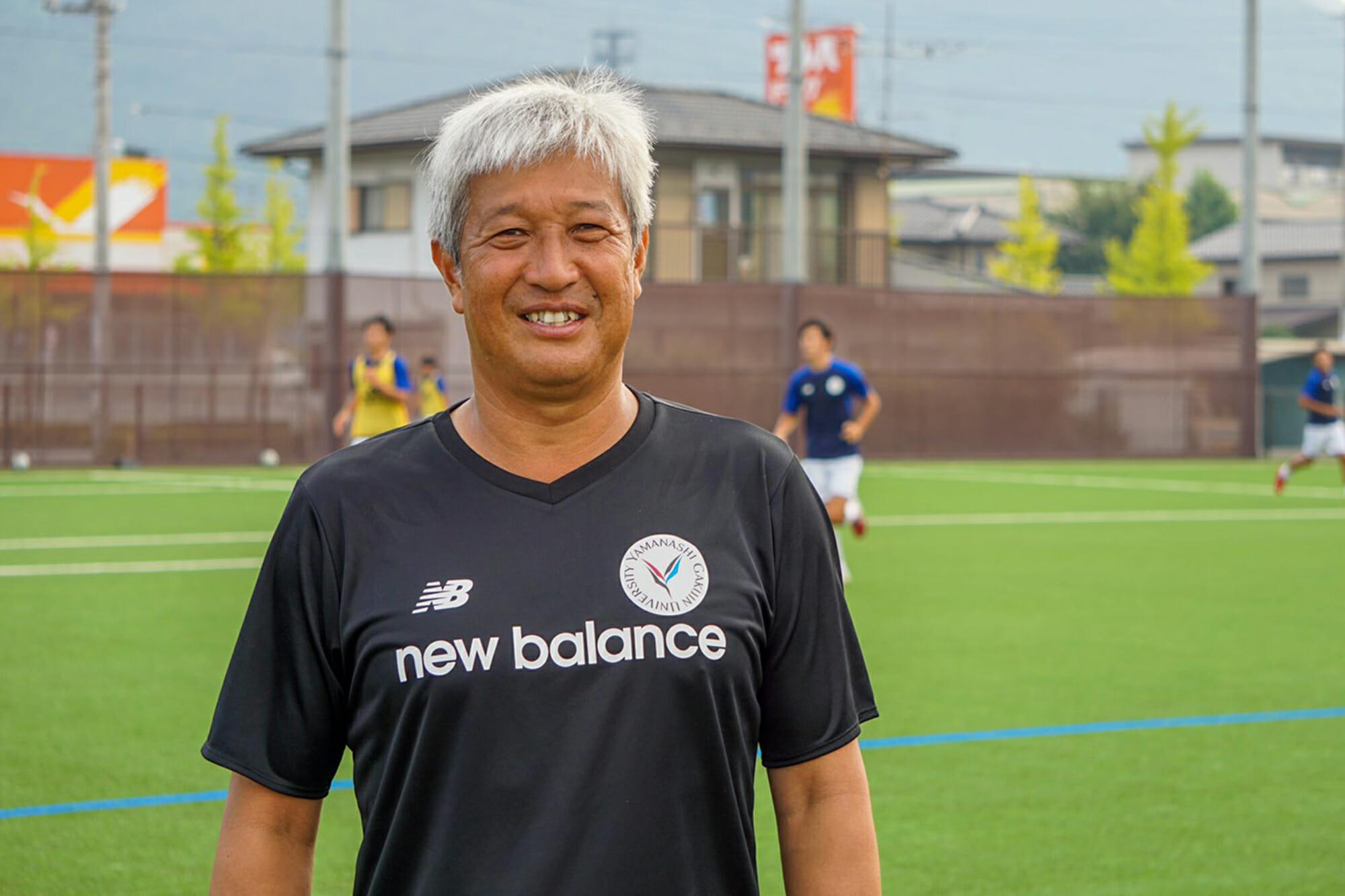 Vol.24 山梨学院大サッカー部 監督/岩渕弘幹