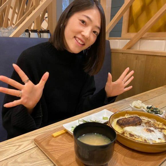 Vol.97 今日の一枚 NGUラブリッジ/長谷川朋佳選手
