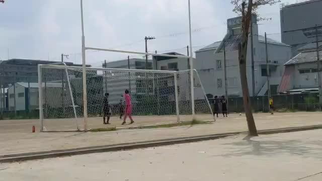 興國高校 岡本憲侑 パンチング①